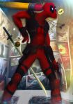 DEADPOOL - POINT BREAK by zero-scarecrow13