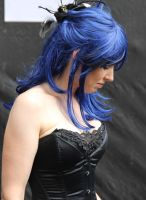 Summer Darkness 2012 - Bluehaired Goth by Joshua-Mozes
