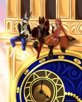 Kingdom Hearts Poster Detail - 1 by Silvixen