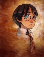 The boy who lived by BloodnSpice