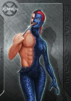 Mystique is transforming to Wolverine... by SEL2