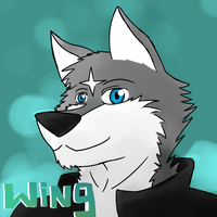 Wing Wolf Commission by Arc1996
