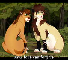 Love can forgive by Monstaria