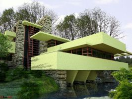 FALLINGWATER by davens07