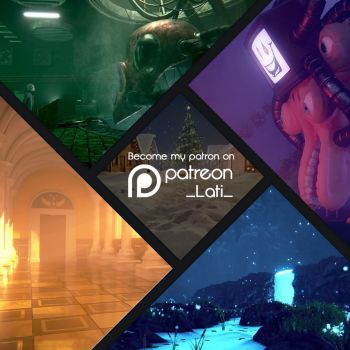 Become my patron on Patreon! by Latyprod