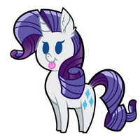 Rarity by wildberry-poptart
