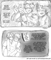 [USUK] Just Another Comic Page 1 by ArthurIggyKirkland