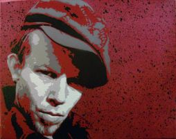 Tom Waits by sykonurse
