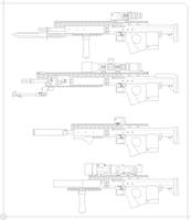 F19 Assault rifle by Skariaxil