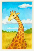 Giraffe by laerry