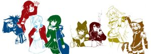 BRS and RWBY by dan-heron