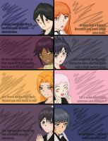 Bleach Girls Are Suave by Imeria