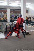 Deadpool and Ant Man by Stormfalcon