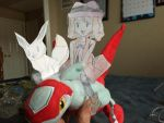 Serena riding on a Latias! by Pikafan09