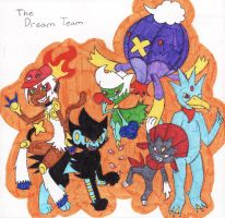 Pokemon Platinum Dream Team by Autogirl