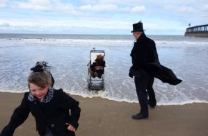 WGW Whitby Goth Weekend April 2013 wave by LureofSalvage