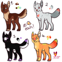 Canine adopts CLOSED by ColoursAndJerks