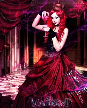 Wonderland Red Queen by juliet981