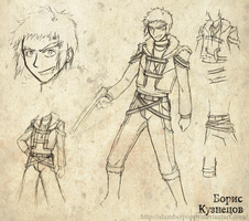 BEYBLADE - Hunter Boris Beta by SlumberPoppy