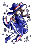 Lovely witch by Val-Krayon