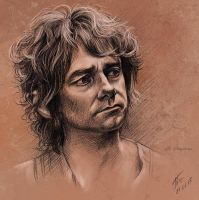Sketch - Bilbo Baggins by Duh22