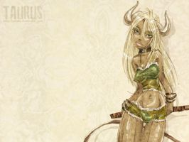 .taurus wallpaper. by guava