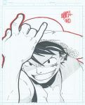 8x10 - Monkey D. Luffy by theCHAMBA