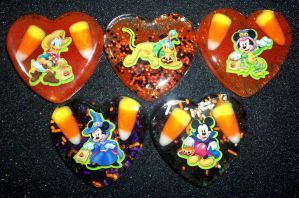 Mickey Mouse and Friends Halloween Resin Pieces by TashaAkaTachi