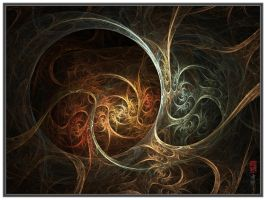 Ancestor Vines OWV No13b by YarNor