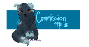 Commission Me- Banner by MaeMusicMelody