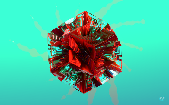 Quick Abstract Render by K4VE