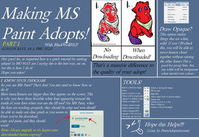 Making MS Paint Adopts! Part 1 by BlackWolf1112-ADOPTS