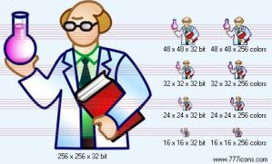 Scientist Icon by science-icons