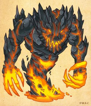Lava Beast by D-MAC