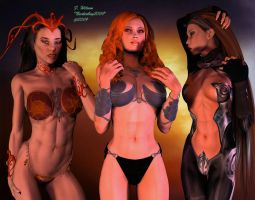 Goddesses of Fire by Nicholas2004