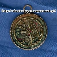 Green pendant by Shadowisper