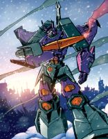 Galvatron by dcjosh