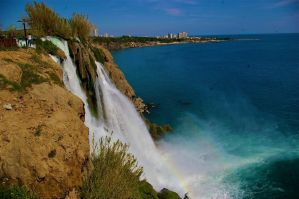Waterfall Antalya by Crossfade41