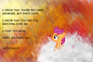 Scootaloo's Mother's Day Message by postcrusade