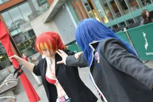 H-HEY GIVE IT BACK!! by Aquos-Cosplay