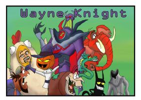 Wayne Knight by raggyrabbit94