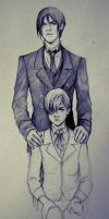 Butler and owner by ymymy