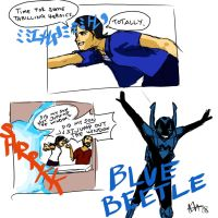 Blue Beetle -Jaime- by neener-nina