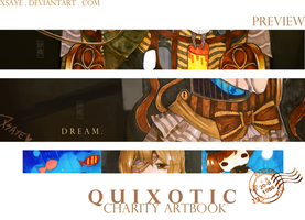 Quixotic Artbook Preview : Within a dream by Xsaye