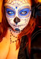 Day Of The Dead Make-Up by MsRetribution
