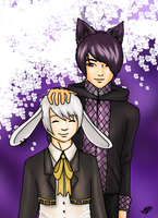 Contest entry: Mello and Damien by Hanna-Riikka
