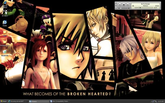 Broken Hearted by escaflowneluvr