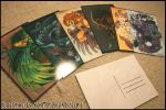 Monsters Postcards by Flying-Fox
