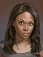 Nicole Beharie by wla91