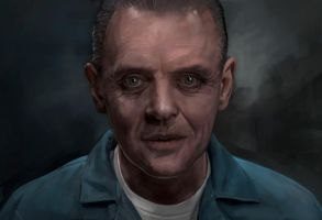 Hannibal Lecter by mattdonnici